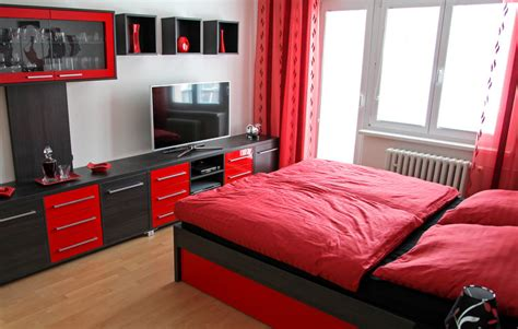red and black bedroom 41 fantastic red and black bedrooms interiorcharm