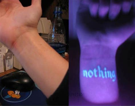 blacklight tattoo ink sci tattoos that are invisible in daylight