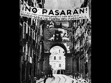 Pasaran Tje cnt fai anarchism spain 1936