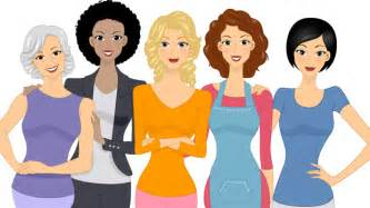Image result for Group of Women Friends Clip Art