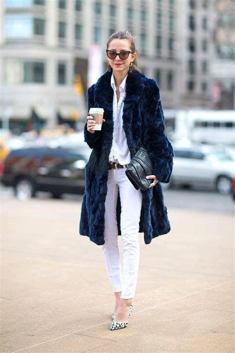 Navy Style ny fashion week style the covetable