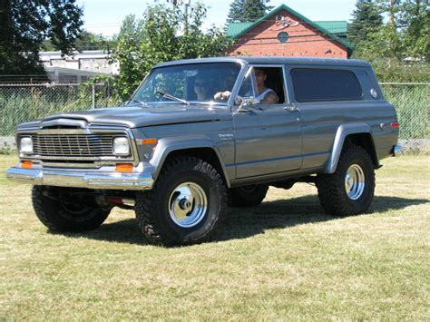 jeep cherokee 1980 1980 jeep cherokee information and photos momentcar