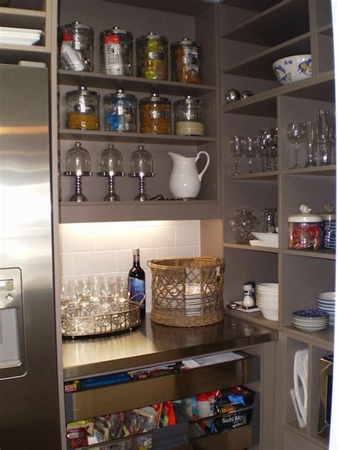 Kitchen With Walk In Pantry by Walk In Pantries Transitional Kitchen Fitz Design