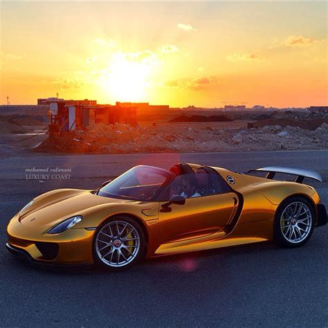 custom porsche 918 meet a custom wrapped porsche 918 spyder with some serious