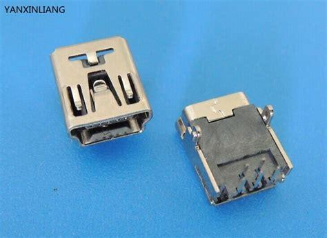 Usb20 Usb 20 To Dip 20pcs mini usb type b 5 pin dip pcb socket connector 2 pin leg in connectors