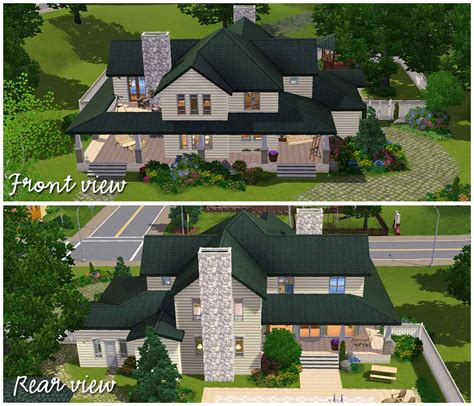 sims 3 family house plans mod the sims country family house