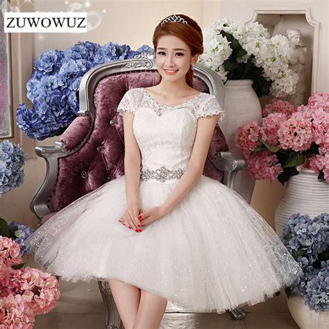 size short wedding dress bridal ball gown
