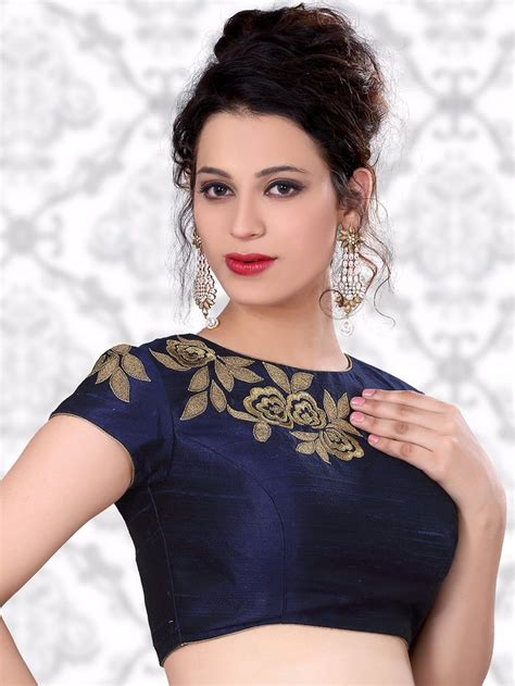 Indian Blouse Navy 78 best images about fashion blouses cholis for