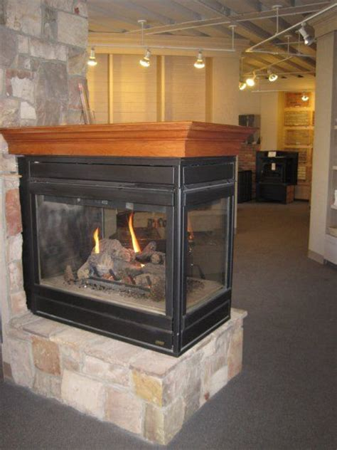 Sided Gas Log Fireplace by Three Sided Gas Fireplace Also Availale In Two Sided Brothers Daley Lansing Mi