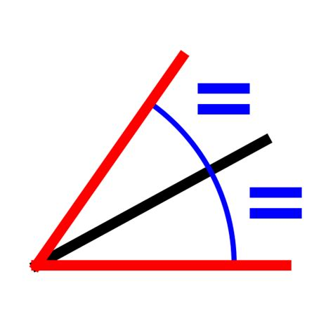 You Can Bisect An Angle Using The Paper Folding Technique - angle bisector