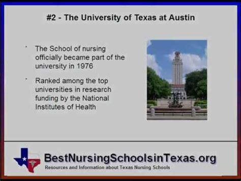 Nursing Programs In - best nursing schools in the top ranked tx nursing