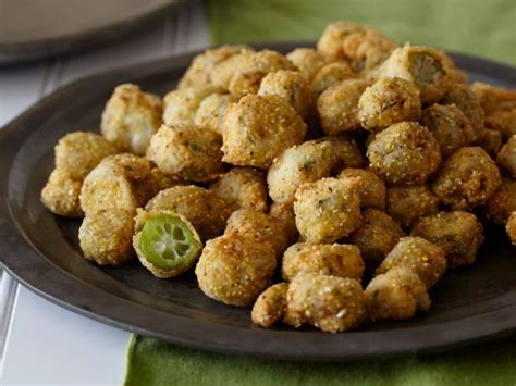 fried okra recipe paula deen food network