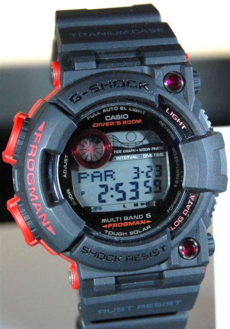 Gshock Casio Gshock Frogman Gwf1000 Hitam Limited Edition gwf t1000bs atomic ruby frogman my g shock