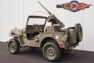 Army Jeep 1952 Jeep Na Prodej