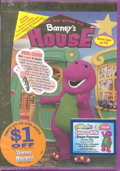 barney s house barney come on over to barney s house region 1 import dvd buy online in south africa