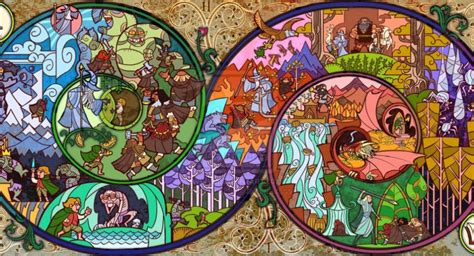 of glass lord of the vag books lord of the rings stained glass pop culture