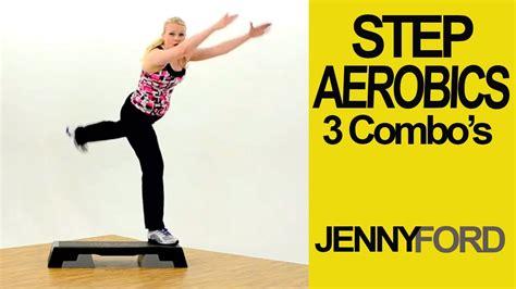 Basic W step basic w 3 combos fitness cardio workout