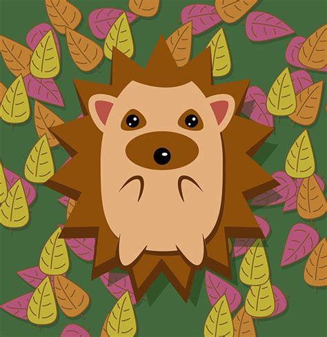inkscape tutorial hedgehog envato tuts community challenge created by you february