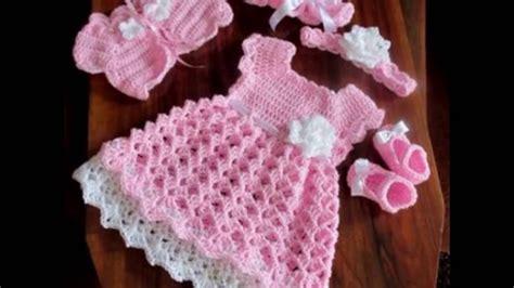 vestidos para bebes de tejido vestido para bebe tejidos a crochet viyoutube