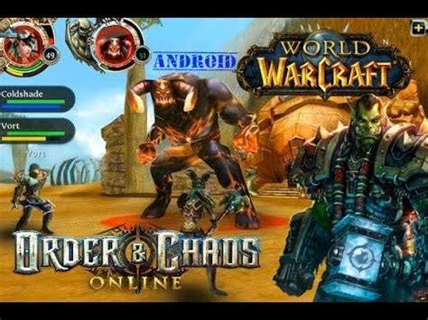 wow on android wow para android order chaos