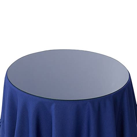 20 inch table topper 20 inch glass table topper bed bath beyond