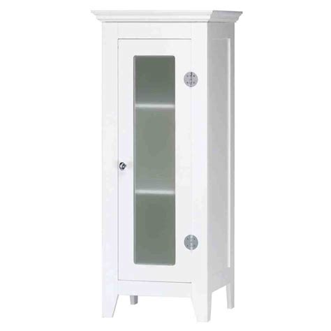 White Bathroom Storage Cabinets Small White Bathroom Floor Cabinet Home Furniture Design