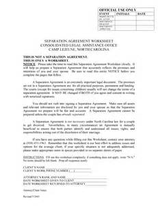 free separation agreement template free microsoft word templates part 3