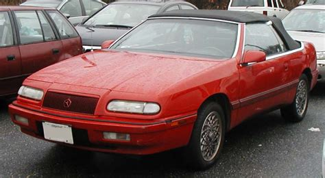 books about how cars work 1993 chrysler lebaron on board diagnostic system file 93 95 lebaron convertible jpg wikimedia commons
