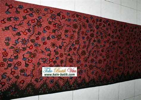 Kain Batik Tulis Madura 603 batik madura klasik kbm 5755 kain batik murah