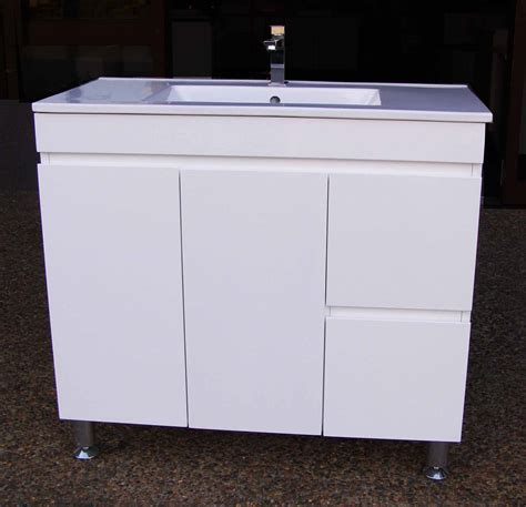 metal leg bathroom vanity daedalus wp900r 900mm polyurethane bathroom vanity unit