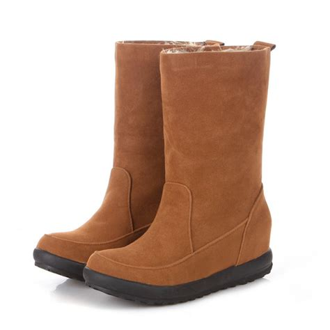 winter boots for 2014 2014 winter boots flat fur inner warm snow boots