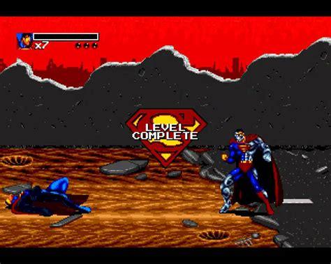 sega genesis superman and return of superman sega genesis 5 9