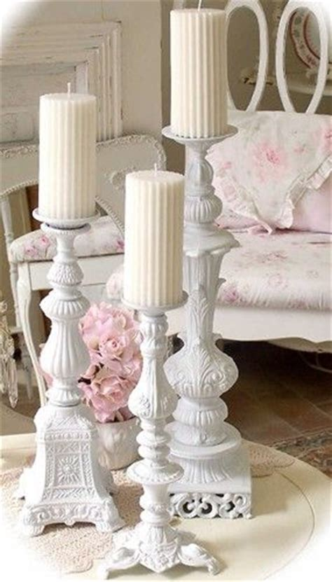 shabby chic l base candlestick wind chime picmia