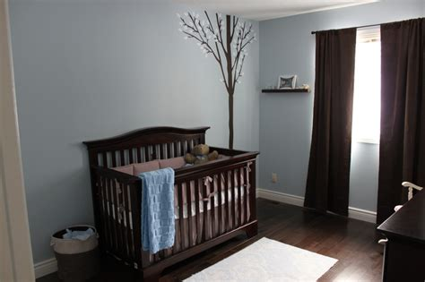 Blue And Brown Nursery Decorating Ideas by Cameron S Blue And Brown Nursery Project Nursery