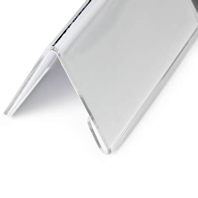 Acrylic Tent Card acrylic tent shaped name card holder name holders