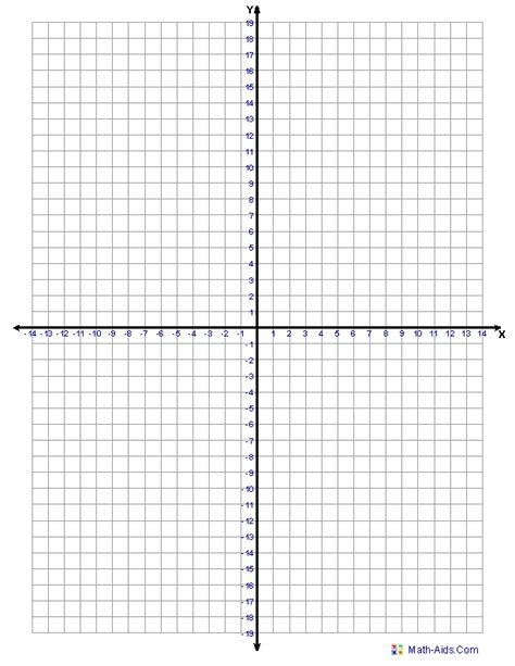 printable graph paper for math 4 quadrant graph template world of printable and chart