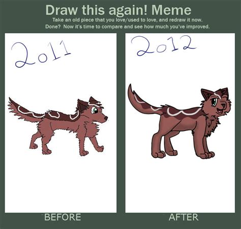 Draw This Again Meme Blank - draw this again meme filled by glitteringcoffee on deviantart