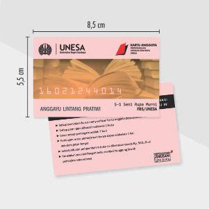 Jasa Cetak Kartu Garansi cetak kartu id card percetakan murah surabaya
