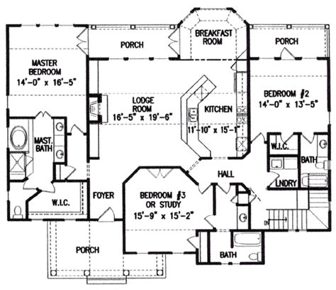 how to calculate floor plan area southern style house plan 3 beds 3 00 baths 4172 sq ft