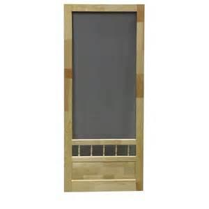 diy 32 in wood screen door lowe s canada