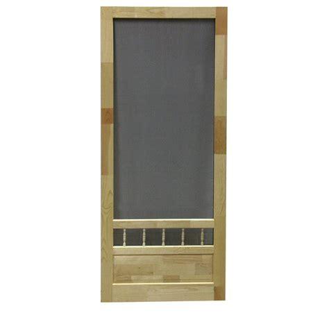 wood screen door hardware diy 32 in wood screen door lowe s canada