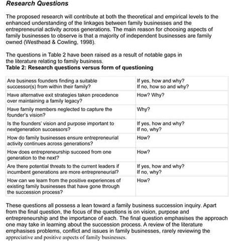 exle questionnaire for research paper large scale integration model answer paper 28 images
