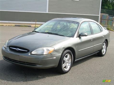 taurus colors 2002 spruce green metallic ford taurus sel 34851110 photo