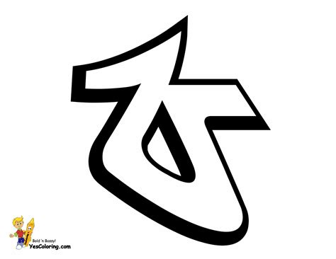 Tag Graffiti Printables Free Graffiti Alphabets Station Coloring Page