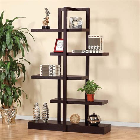 contemporary living room accent display stand cabinet