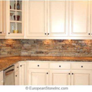 faux stone kitchen backsplash faux rock backsplash for the home pinterest