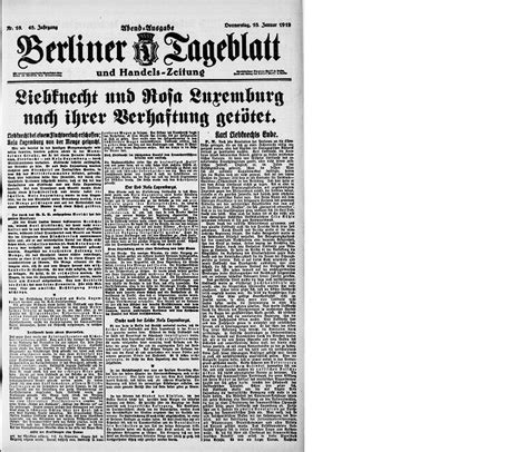 news articles from 2015 view articles from 2006 2007 2008 this day in history 15 january 1919 europeana newspapers