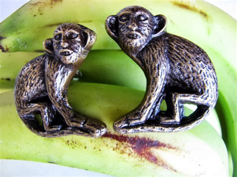 Monkey Drawer Pulls by Monkey Business Brass Drawer Pulls Or Door Knobs 2pcs