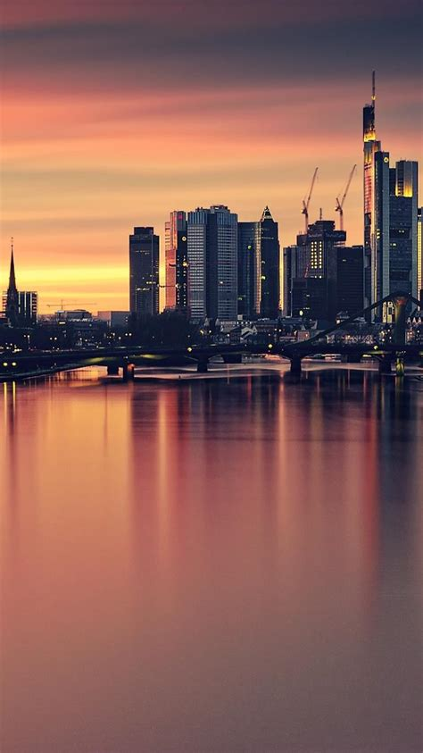 cityscapes germany urban buildings europe frankfurt