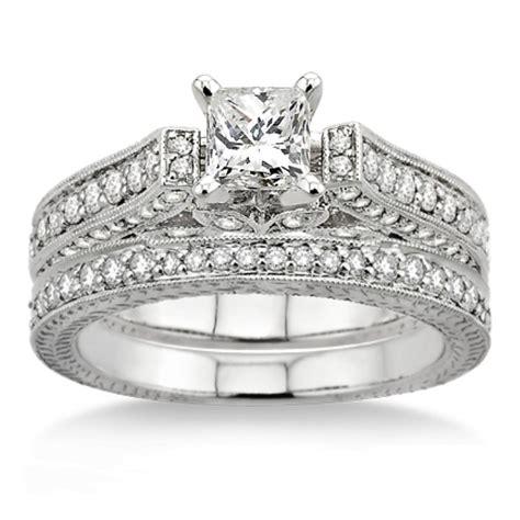 certified 2 00 carat antique bridal set engagement